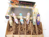 Katherine's Collection Bunny Rabbit Kid Ornaments Set of 6