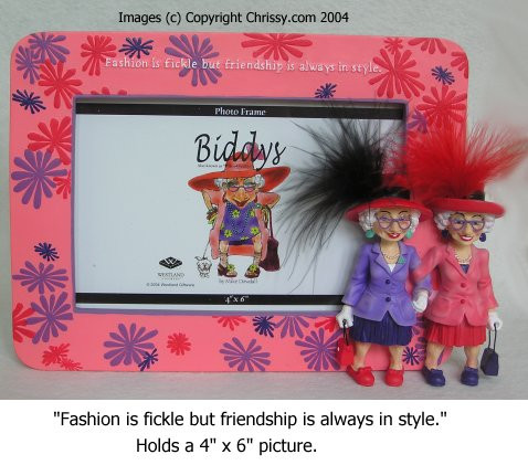 Westland The Biddy Ladies Friendship 4x6 Picture Frame