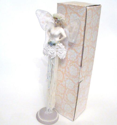 GANZ Fairy Angel Tassel Doll in White