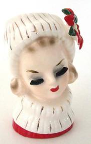 Vintage authentic Lady Head Vase Napcoware CX5409