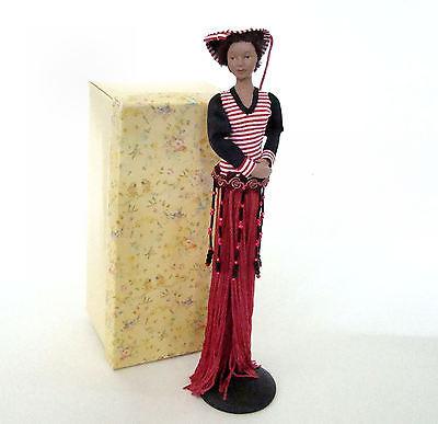 Red Striped Top Tassel Doll