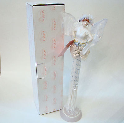 Show Stoppers with White Tassels Porcelain Tassel Doll
