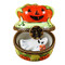 Mini Pumpkin W/Ghost Rochard Limoges Box