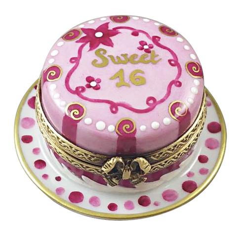 Sweet 16 Cake Birthday Cake Rochard Limoges Box