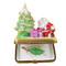 Christmas Tree W/Santa & Gifts Rochard Limoges Box