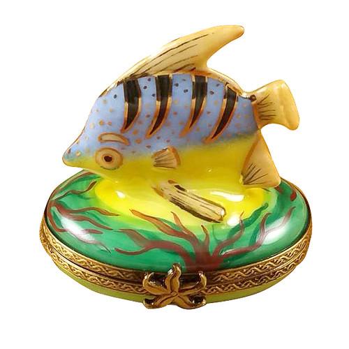 Blue Fish Rochard Limoges Box