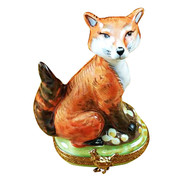 Fox Rochard Limoges Box