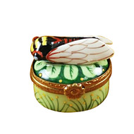 Mini Insect On Oval Rochard Limoges Box