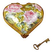 Heart - Key To My Heart Rochard Limoges Box