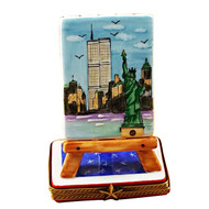 Easel - New York Rochard Limoges Box