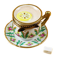 Cup Of Tea - Lemon Rochard Limoges Box