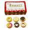 Donut Box W/Six Donuts Rochard Limoges Box