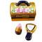 Make-Up Case W/Lipstick Rochard Limoges Box