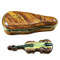 Maplewood Violin Case W/Violin Rochard Limoges Box