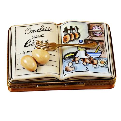 Cookbook - Omelet Rochard Limoges Box