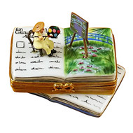 Book Monet/Water Lilies Rochard Limoges Box