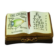 Opthalmologist/Eye Doctor Book Rochard Limoges Box