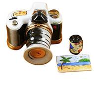 Camera W/Film & Photo Rochard Limoges Box