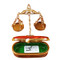 Scales Of Justice Rochard Limoges Box
