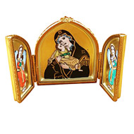 Triptych With Madonna & Jesus Rochard Limoges Box