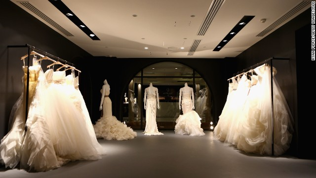 Decorating tips for your wedding boutique indoor for Boutique en ligne vera wang