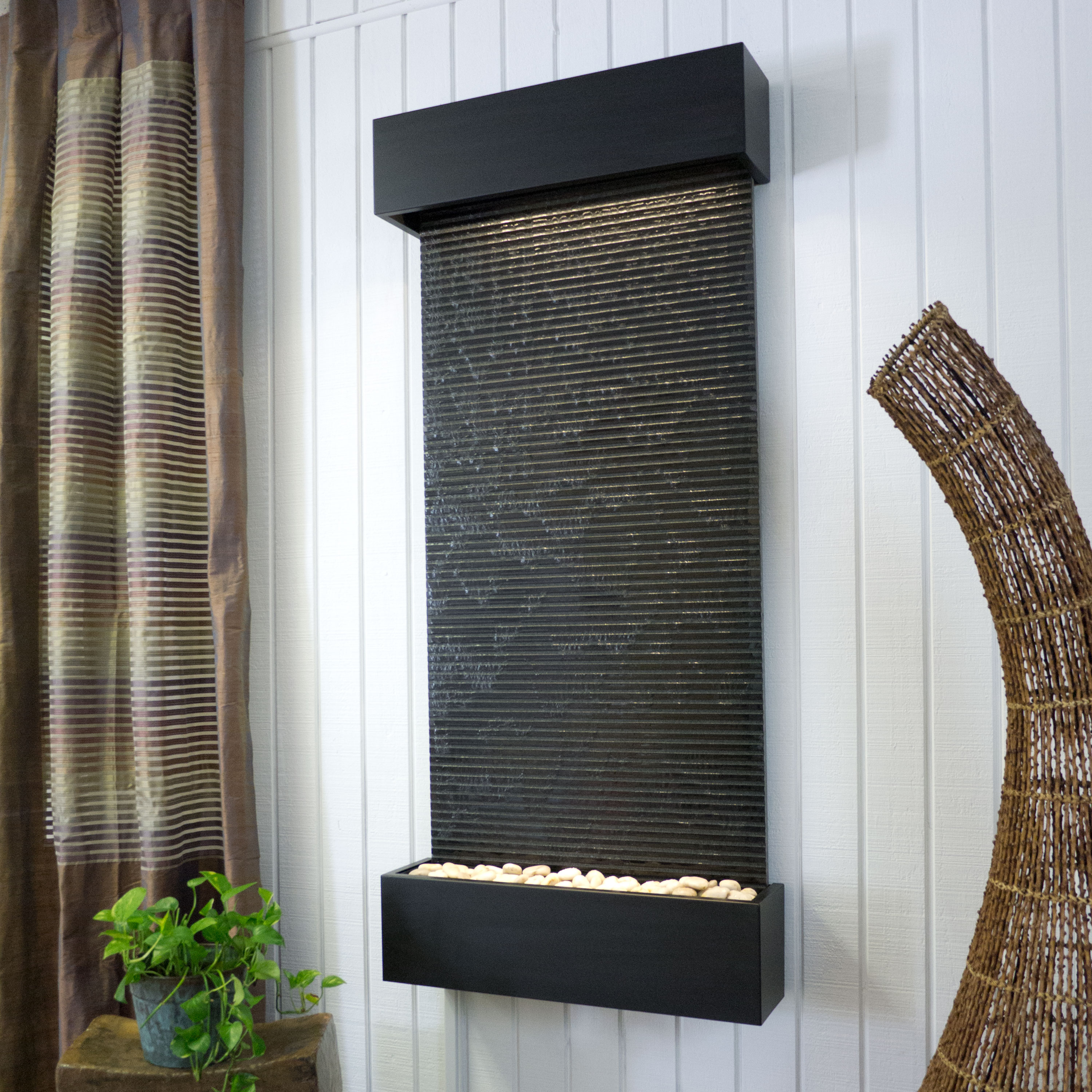 How To Integrate Interior Wall Fountains In Your Home: Is A Wall Fountain Right For Your Waiting Room?