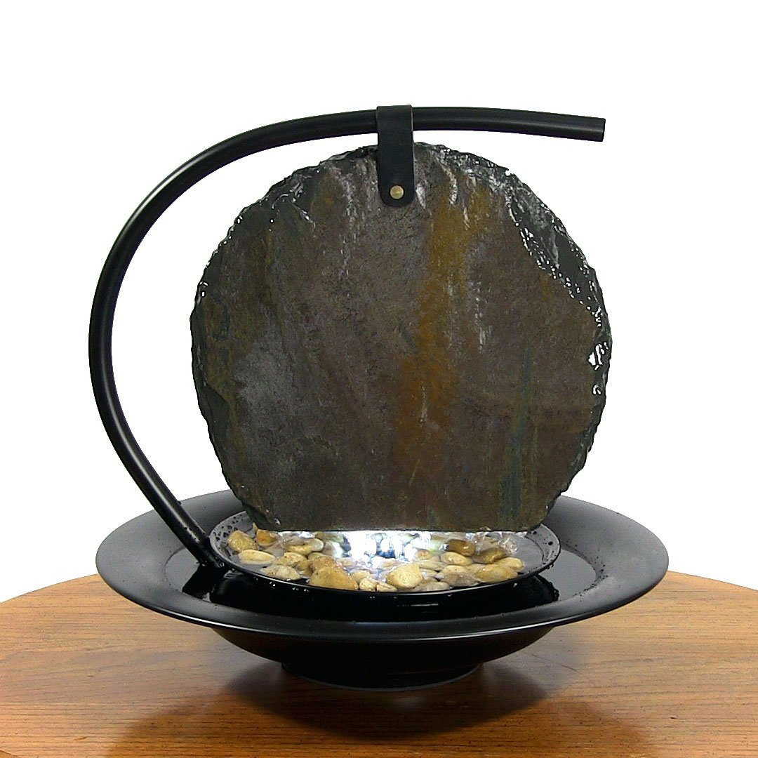 Lower Your Stress Level With A Tabletop Water Feature In Your Office    Indoor Fountain Pros