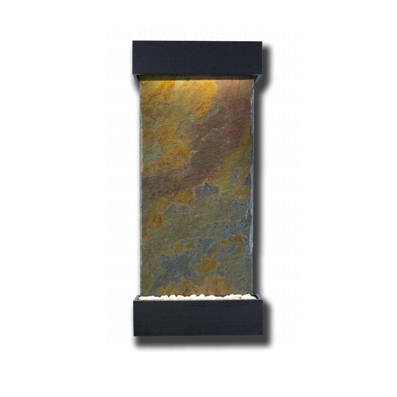 Onyx Trim Pieces : Large nojoqui falls rajah slate with black onyx trim kit