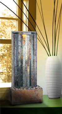 Waterwall Tabletop | Wall Fountain