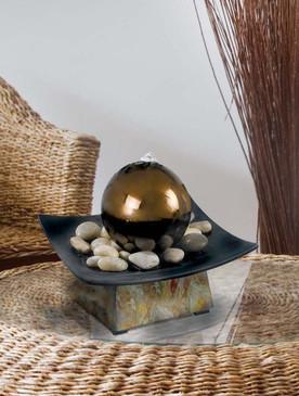 Sphere Tabletop Water Fountain