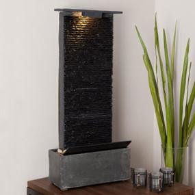 Bedrock Falls Table | Wall Fountain