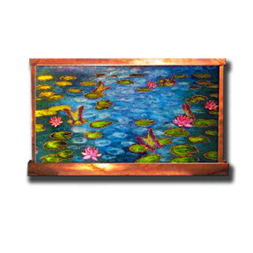 Monet's Water Lilies Wall Fountain