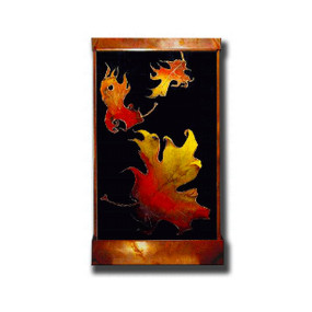 Autumn Leaves Wall Fountain