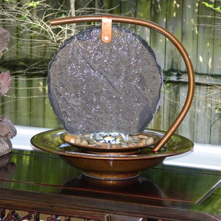 Large Sierra MoonShadow Tabletop Water Fountain