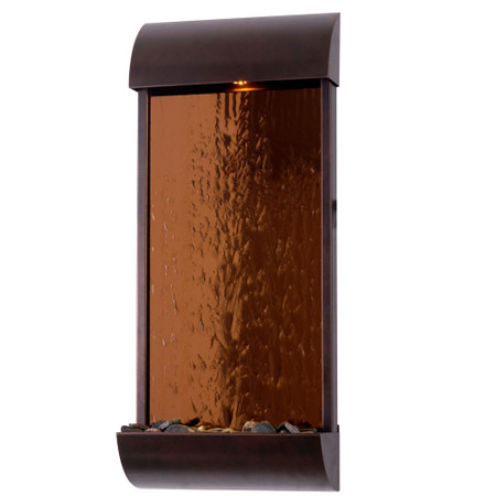 Aspen Indoor/Outdoor Wall Fountain - Indoor Fountain Pros