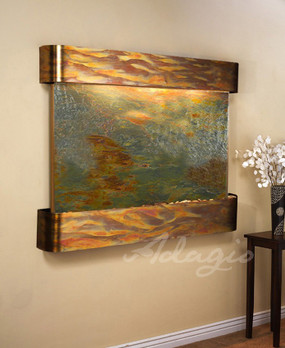 Teton Falls - Rajah Featherstone with Rustic Copper Trim and Round Corners