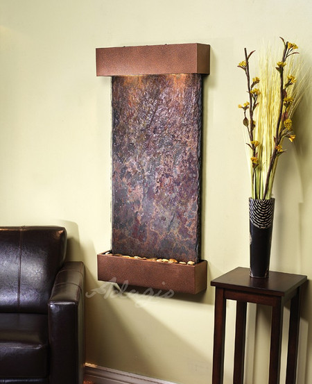 Whispering Creek - Rajah Slate with Copper Vein Trim