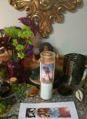7 Day Altar Working for Santa Marta La Dominadora, For Lost Love, Control, Fidelity, Domestic Issues