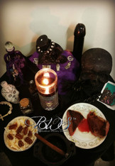 7 Day Altar Working for Baron Samedi, Loa of the Dead, Protection, Money, Legal Issues, Last Resort
