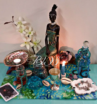 7 Day Altar Working for Yemaya, Comfort, Security, Finances  & Job, Children, Fertility, Dream Magick