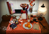 Day Altar Working for La Madama, Comfort, Nurturing, Household Matters, Business, Money, Divination
