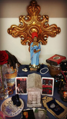 7 Day Altar Working for Marie Laveau, For Love, Healing, Empowerment, Divination, Legal, Business, Finances, Hard Situations