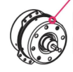 Exhaust Blower Fan MOTOR (LS-53T1-4P / WK4-30T2-J08A) for WHYNTER ARC-12SD/ARC-12SDH/ARC-14SH/ARC-143MX