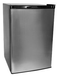 Haier 4.6 Cu. Ft. Refrigerator/Freezer - Platinum - HNSE05SS