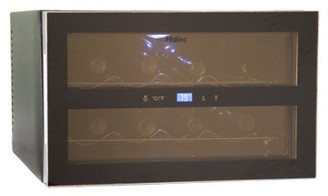 Haier 8-Bottle Capacity Wine Cellar with Touch Screen Control - HVTS08ABB