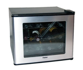 Haier 12-Bottle Capacity Thermoelectric Wine Cellar - HVT12AVS