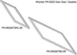 Door gasket(small) for FM-62DZ