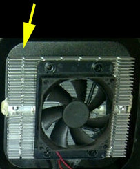 Cooling System UPPER for WC-321DD CWC-351DD (Heat Sink)