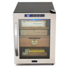 CHC-120S Whynter Stainless Steel 1.2 cu. ft. Cigar Cooler Humidor