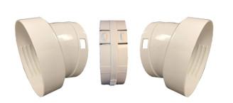 """Whynter V2 hose extender set (1) for Portable Air Conditioner Models ARC-12S, ARC-12SD, ARC-12SDH, ARC-14S, ARC-14SH, ARC-143MX, ARC-141BG (5.9"""" diameter hoses)"""